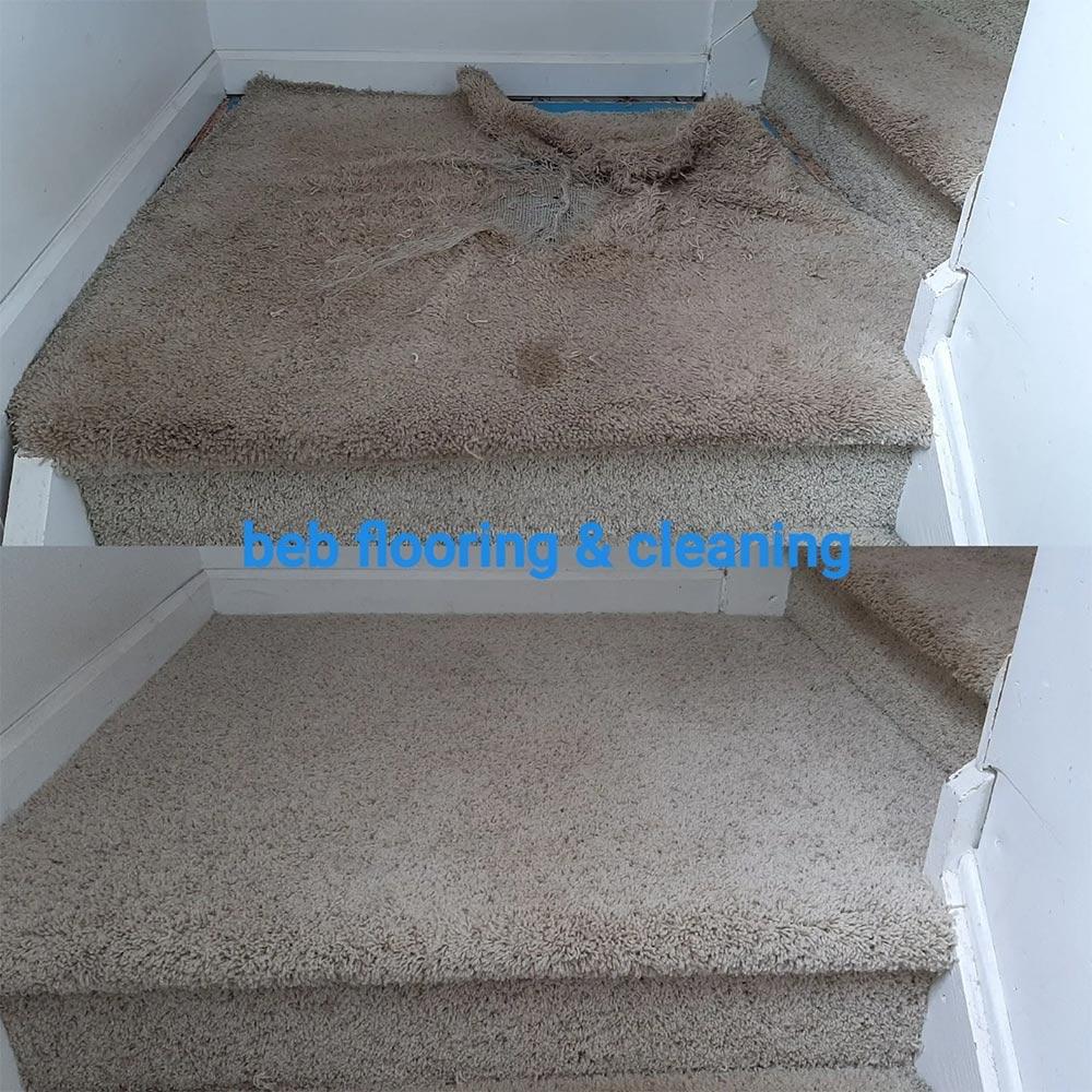 carpet repair on steps in chapel hill nc