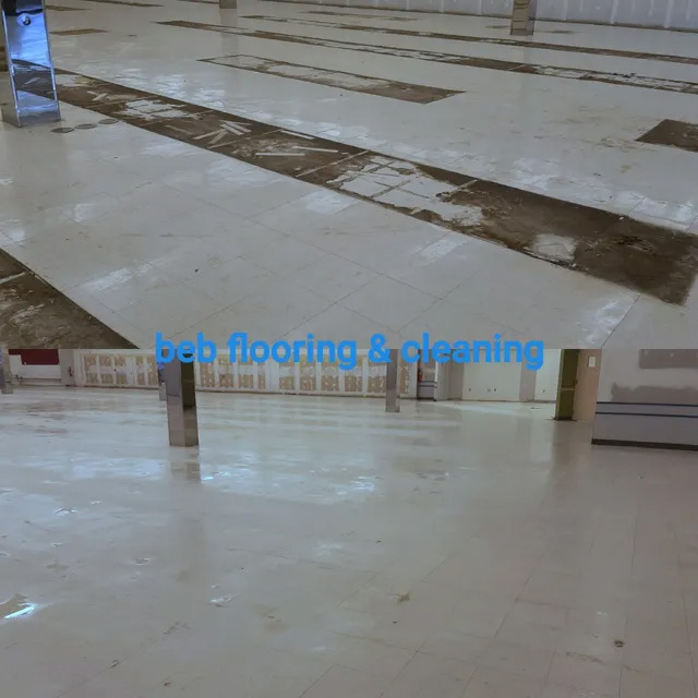 tile cleaning before and after in Raleigh, NC