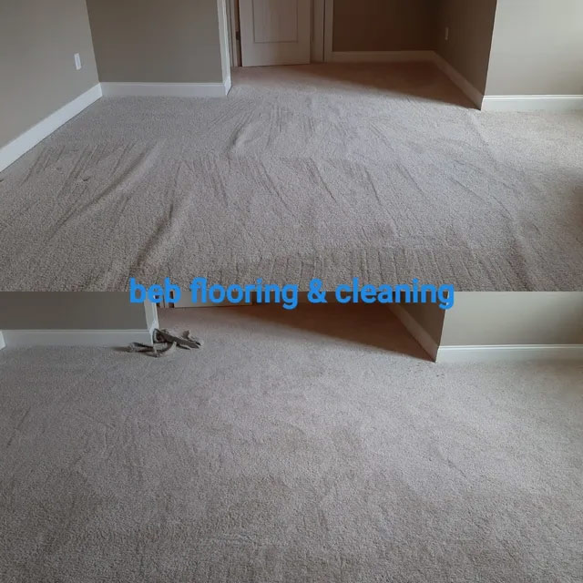 carpet stretching before and after in raleigh, nc
