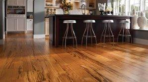 Wood laminate floor cleaning in Raleigh, NC